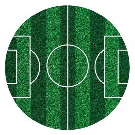 Disco Comestible Fútbol Sin Azúcar 16 cm