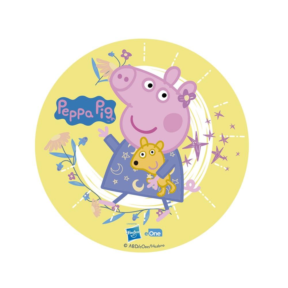 Disco comestible Peppa Pig 16 cm