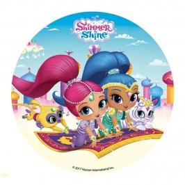 Disco de Azúcar Shimmer and Shiner 16cm