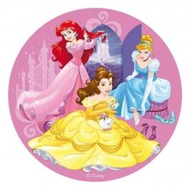 Disco de Oblea Princesas Disney 20 cm