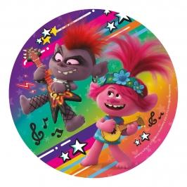Disco de Oblea Trolls Modelo C