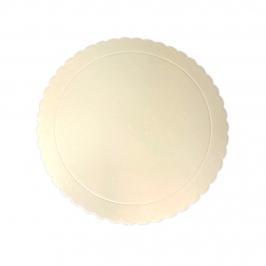 Base Beige Redonda para Tartas 20 cm