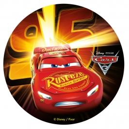 Disco de Azúcar Cars 3 20 cm