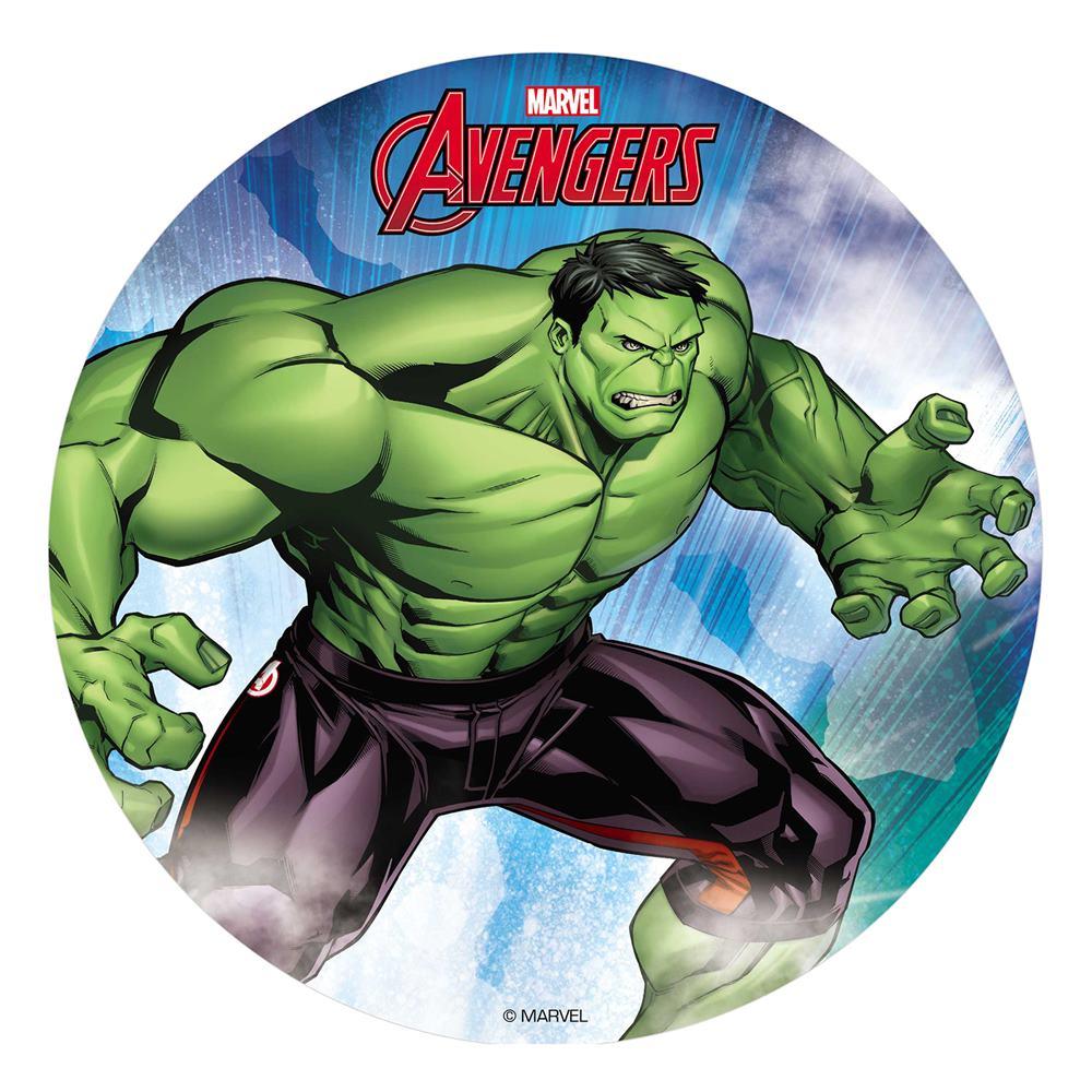 Disco de Oblea Hulk 20 cm