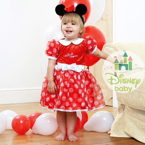 Disfraz de Minnie Mouse para Bebé  de 12-18 meses