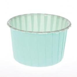Cápsulas para cupcakes Aqua Green
