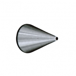 Boquilla #4 redonda de acero inoxidable