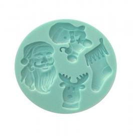 Molde de Silicona Merry Christmas