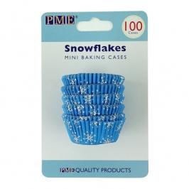 Mini Cápsulas para hornear SnowFlakes de PME