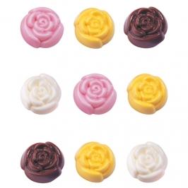 Molde para piruletas de chocolate Roses