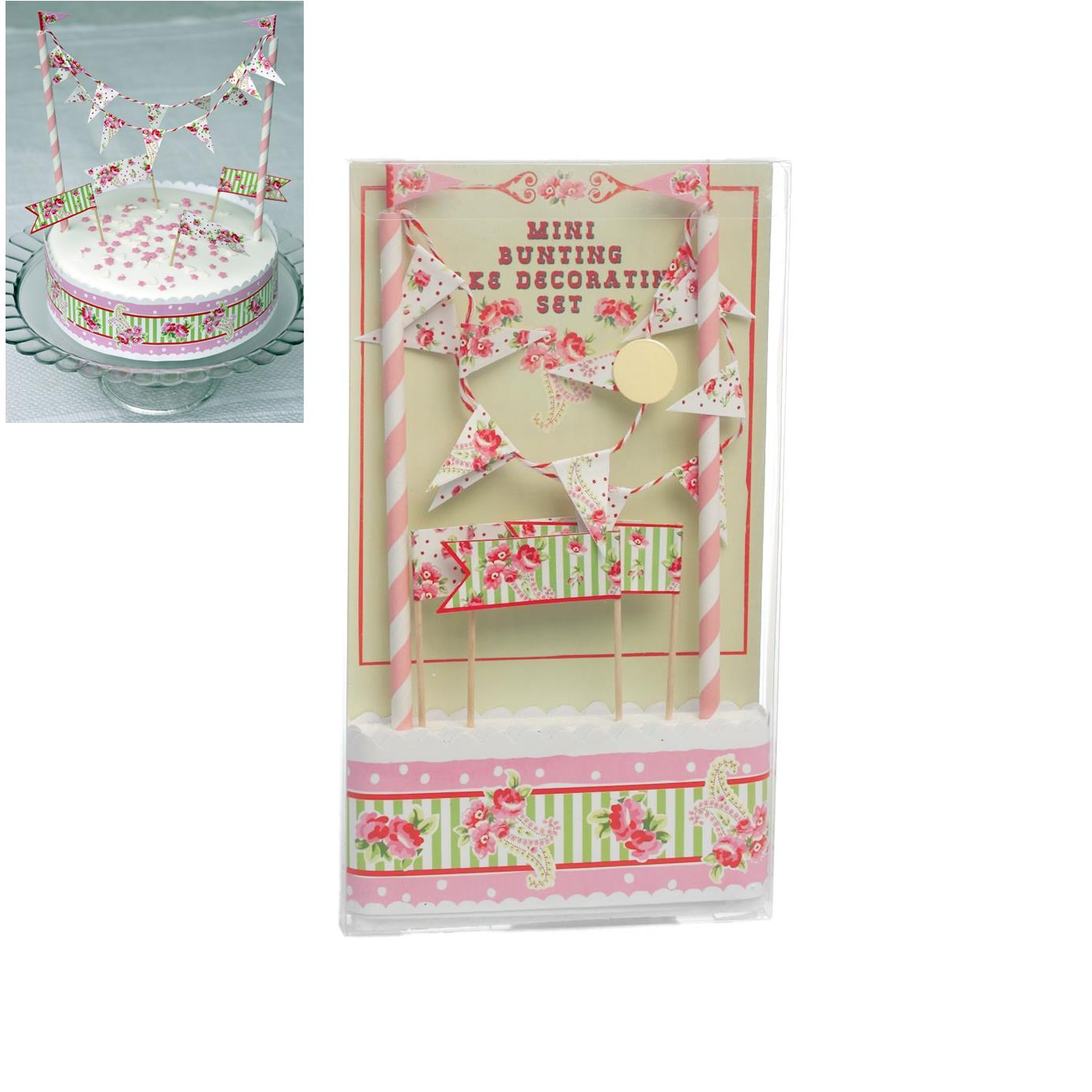 Kit para decorar Tartas Paisley Rose