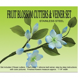 Kit Fruit Blossom: Cortadores y Marcador