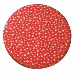 Base gruesa Gold Stars para tarta 25 cm