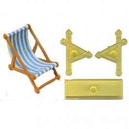 Set cortadores Silla de playa 3D