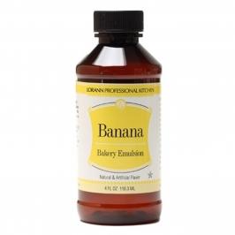 Emulsión sabor Banana 118 ml
