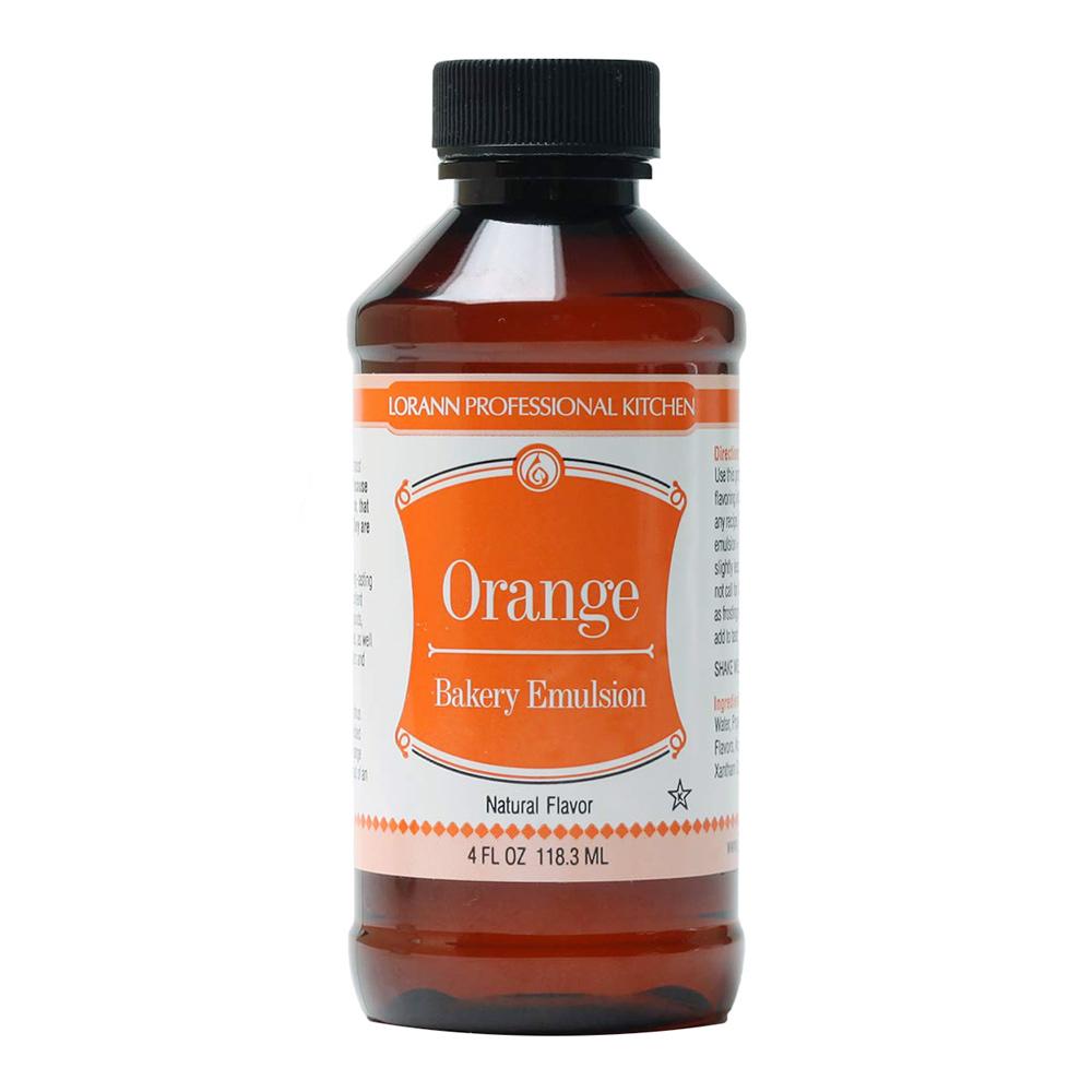 Emulsión sabor Naranja 118 ml