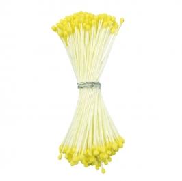 Estambres para flores Amarillo Mate
