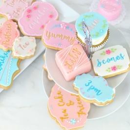 Estampador para Cupcakes y Galletas 66 piezas