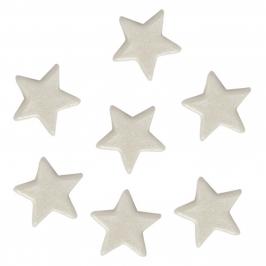 Estrellas de pasta de azúcar perladas 40 unidades