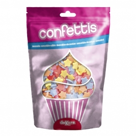 Estrellitas de Azúcar Multicolor