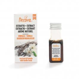 Extracto natural de vainilla Bourbon Madagascar 20 ml