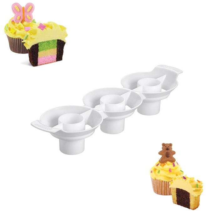 Molde para hacer Cupcakes en 2 Colores
