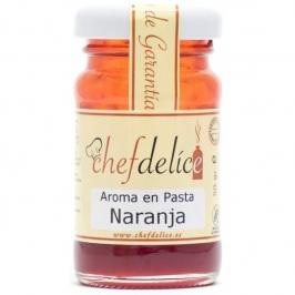 Aroma en pasta sabor Naranja Chef Delice