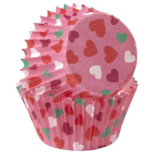 Mini Cápsulas Valentine Hearts Wilton