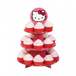 Stand para cupcakes Hello Kitty