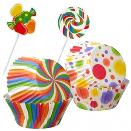 Cupcake Combo Pack Candy Wilton