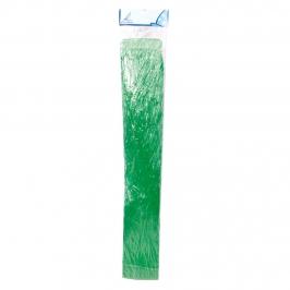 Falda hawaiana verde de 80 cm de largo