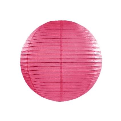 Farolillo de Papel Color Fucsia 25cm