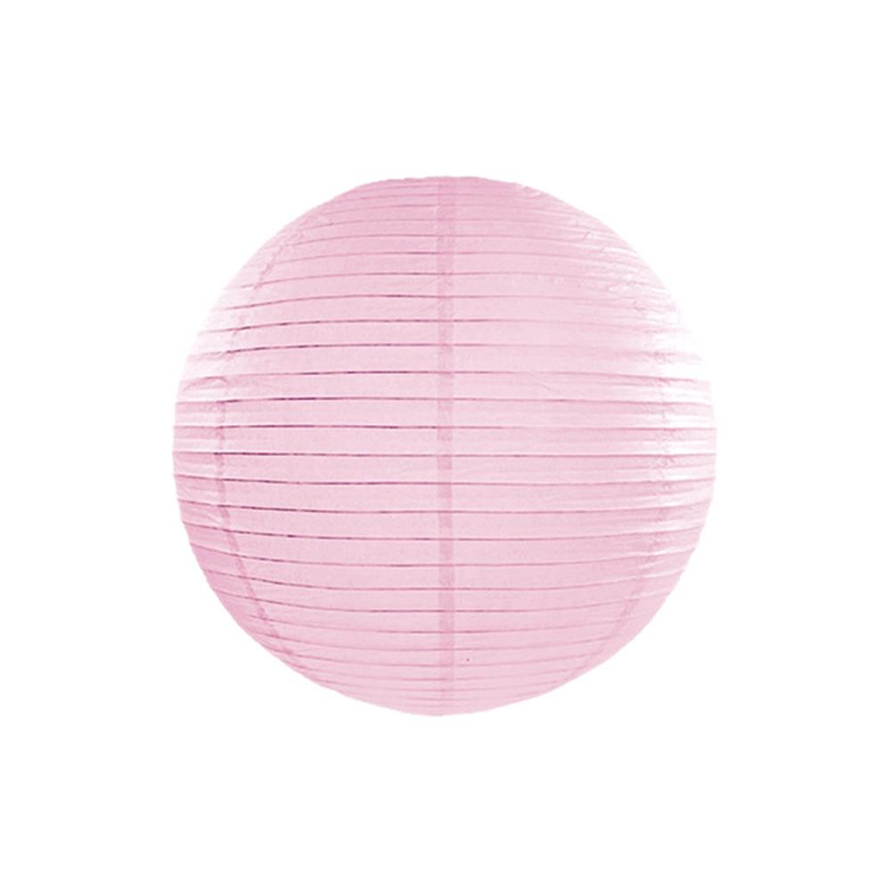 Farolillo de Papel Color Rosa 35cm
