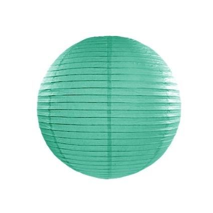 Farolillo de Papel Color Turquesa 45cm