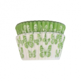 Cápsulas cupcakes Green Butterfly Squires Kitchen