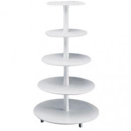 Stand para tartas de 5 pisos