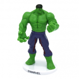 Figura de PVC para tarta de Hulk de Los Vengadores de 9 cm