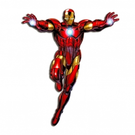 Figura Decorativa Iron Man 1 m