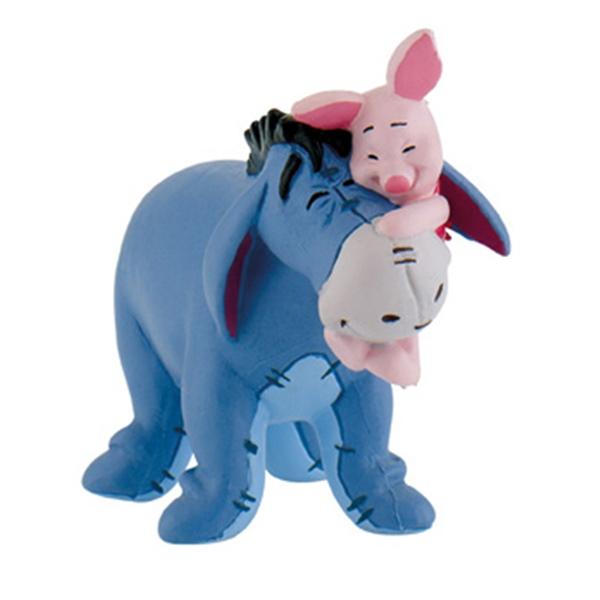 Figura Eeyore y Piglet Winnie the Pooh