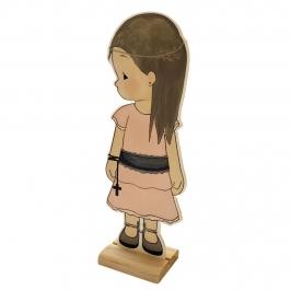 Figura Comunión Niña Martina 18 cm