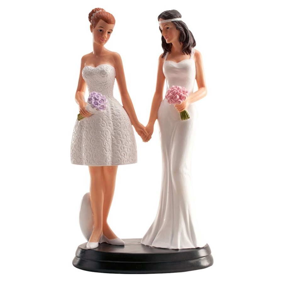 Figura para tarta Chica y Chica