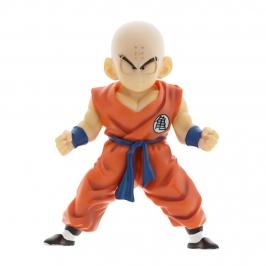 Figura para tarta de 10 cm de Krillin, de la serie Dragon Ball