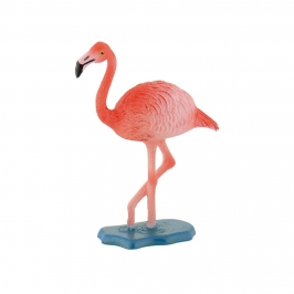 Figura para Tarta Flamenco Rosa 7 cm