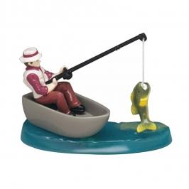 Figura para tarta hombre pescando 10 cm
