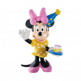 Figura para Tarta Minnie Party 7 cm