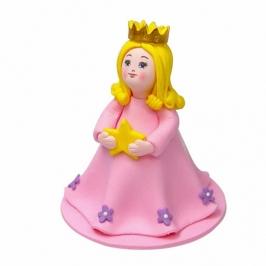 Figura para tarta princesa 9cm