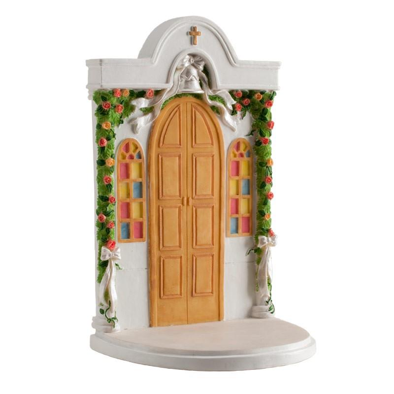 Figura para Tarta Puerta de Iglesia
