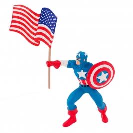 Figura para Tartas Capitán América - My Karamelli