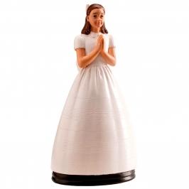 Figura para tartas Chica Comunión Clásica