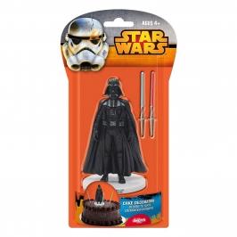 Figura para tartas Darth Vader con 2 Espadas
